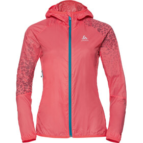 Odlo WISP Jacket Women dubarry-placed print SS18